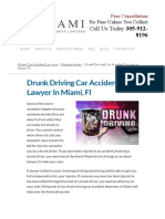Drunk Driving Car Accident Lawyer in Miami, FL _ Miami Car Accident Lawyers