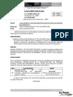 Informe 1080-Solicito Meta y Certificación Presupuestal Para Ejecución de Plan Operativo