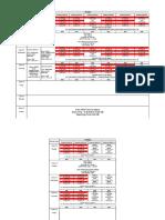 Panini Time Table 2 Dec 2019 7 Dec 2019