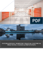Maritime Fraud and Unethical Practices