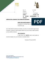 Solicita Archivo de Proceso