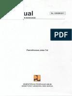 Manual Pemeliharaan Jalan Tol