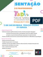 TADI -Poster Apresentação