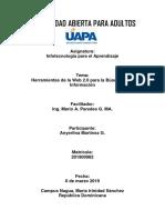 Infotecnología para el Aprendizaje. Tarea VIII..docx
