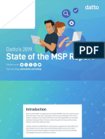 Datto2019 State of the MSP Report