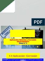 Modulo II - Tema 4 -Equilibrio Electroquímico-clase 3-2018