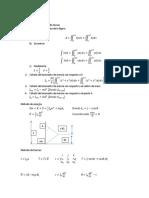 Formulario Dinámica de Sistemas
