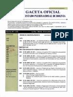 D.S. 3856. Modificación del RPCA. 2019
