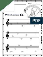 Nota Dó - Central (musicalização infantil)