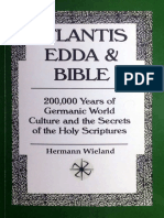 Atlantis, Edda and Bible - Hermann Wieland