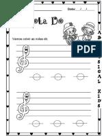 Nota Dó - Central 2 musicalização