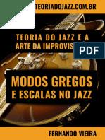 Modos Gregos e Escalas Usadas No Jazz