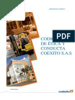 PDF Codigo de Etica y Onducta de Coexito