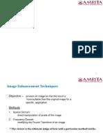 Image enhancement- presentation