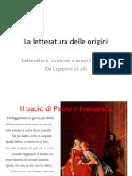 letterature_romanze_e_amore_cortese.ppt