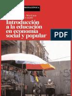 Introducción a la educación en economía social y popular
