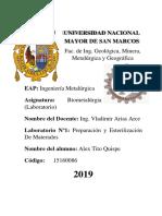 Informes de Laboratorio- Alumno Tito