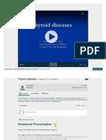 slides on thyroid diseases