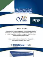 Invitacion Estudiantes Proyecto Simuladores CVUDES