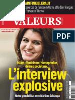 Islam, Féminisme, Homophobies, Délires Sociétaux - Valeurs Actuelles 4291 - Du 21 Au 27 Février