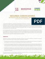 2a Convocatoria SV 2020