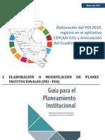 Elaboracion Del Poi 2019