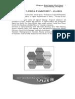 Regional Planning Full Document SR