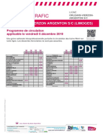 Info Trafic Orleans-Vierzon-Argenton S_c (Limoges) Du 06-12-2019