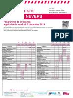 Info Trafic Tours-Vierzon-bourges (Nevers) Du 06-12-2019