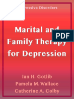 Marital and Family Therapy for  Depresion