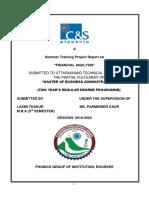 C&S financial analysis