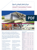 Qatar National Convention Centre Fact Sheet 2008