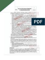Nota de Inteligencia Financiera N° 00245-2016-DAO-UIF-SBS