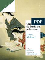 Akinari Ueda - Cuentos de Lluvia de Primavera