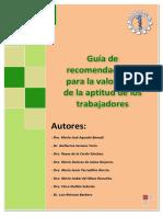 Guia Recomendaciones Valoracion Aptitud Trabajadores