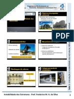 Aula 1 - Introdução a Instabilidade Das Estruturas e Bifurcacao Simetrica Estavel