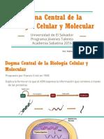 -Dogma Central de la Biología Celular y Molecular-.pptx