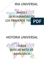 Historia universal seminario