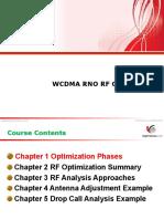 WCDMA RNO RF Optimization