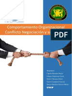Conflicto,Negociacion y Proceso de Negociacion