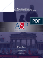 White Paper - A New American Message