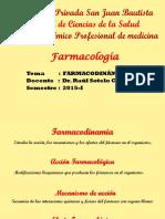 CLASE 07 Farmacodinamia
