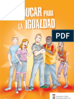 Educar Para La Igualdad- Comic-Ayuntamiento de Gijón