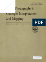 Aerial Photographs in Geologic Interpretation and Mapping-1960