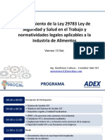 2019 Capacitación Sst -Procal a&c y Adex