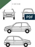 Suzuki Carmodel Blueprints