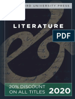 Stanford University Press | Literature 2020 Catalog