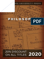 Stanford University Press | Philosophy 2020 Catalog