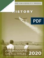 Stanford University Press | History 2020 Catalog