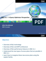 DB2 11 Query Optimizer Perspective